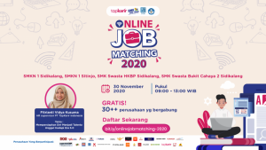 Online Job Matching 2020 SMKN 1 Sidikalang | TopKarir.com