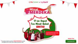 #MinatMerdeka Program Tes Minat dan Bakat Gratis dari NUCareer | TopKarir.com