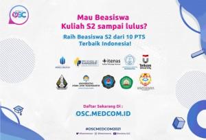 OSC Medcom.id Membuka 590 Beasiswa di 25 PTS Favorit di Indonesia, Daftar Sekarang!   TopKarir.com